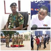Angel Fm Confirms That, The Killers Of Major Mahama Face The Court Today.