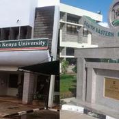 Job Vacancy At South Eastern Kenya University