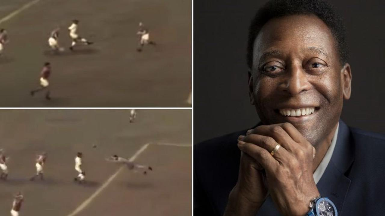 Pele's 'best ever goal' digitally created based on his description - and it's hilarious
