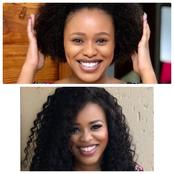Celebs Rocking Their Natural Hair Vs Wigs!
