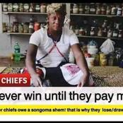 Kaizer Chiefs exposed. Sangoma told journalists that Kaizer Chiefs won't win until they pay him