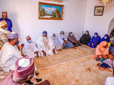 Photos: Governor Lalong visits grieving family of Late House of Reps member who died in accident
