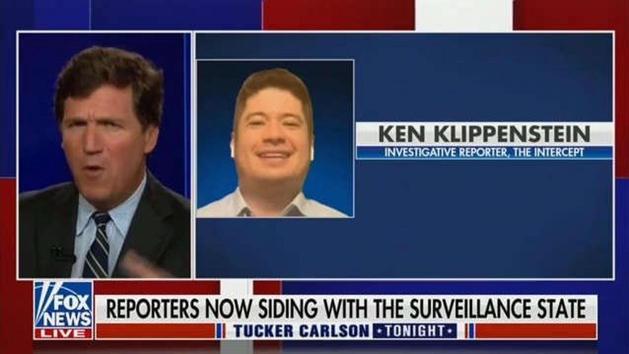 Tucker Carlson's Extremely Mad That Journalists FOIA'd His FOIA Request to NSA