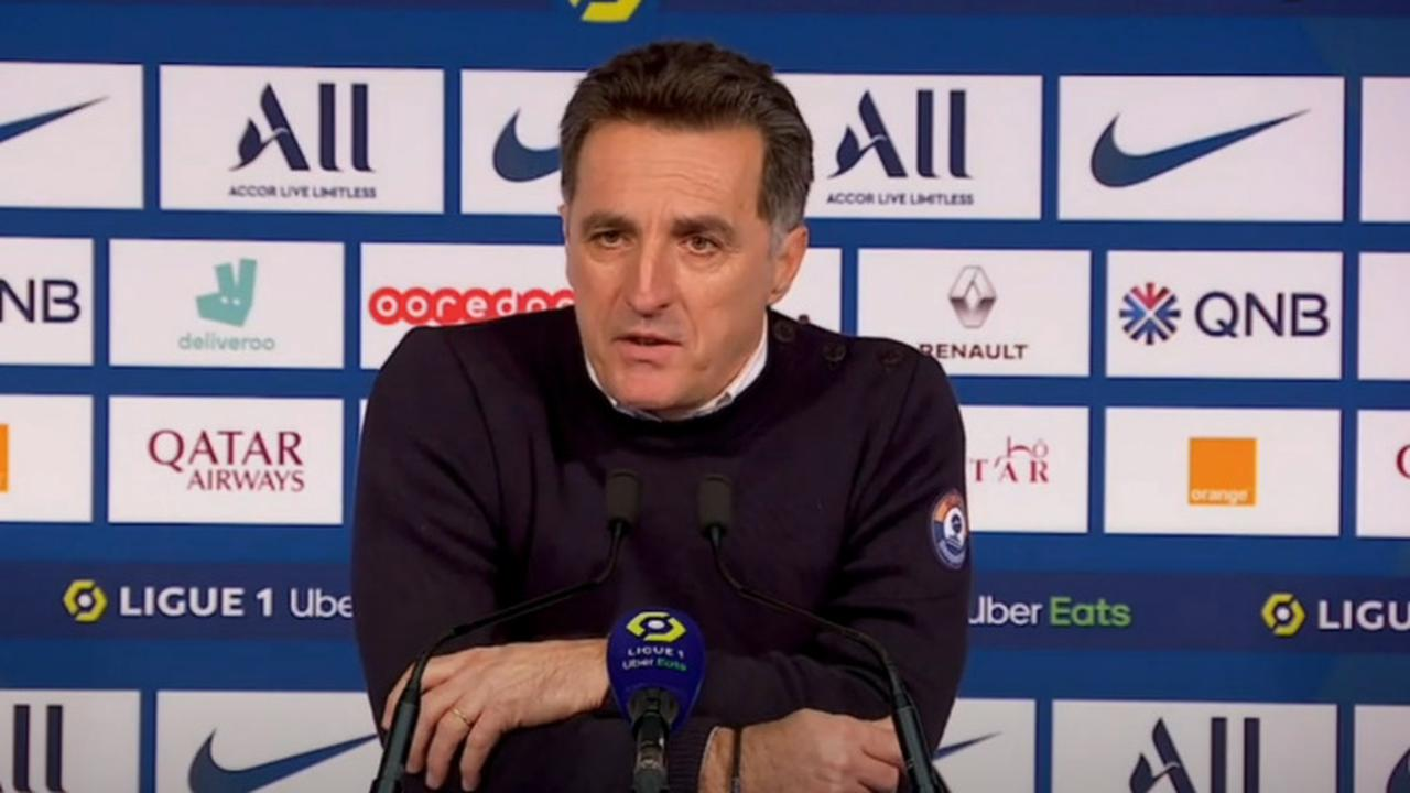 Pélissier (Lorient) s'attend à « affronter un grand PSG »