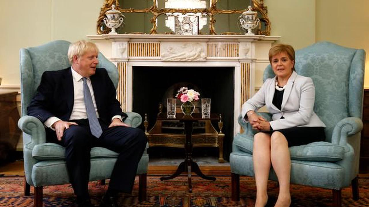 Boris Johnson to meet Scots Tory leader Douglas Ross today as he snubs Nicola Sturgeon invitation
