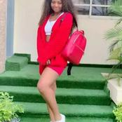 Opinion: Regina Daniels Is Unbeatable In Red Dresses, These 10 Photos Will Convince You