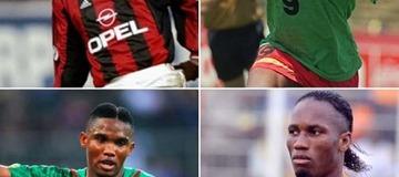 Weah 6e, Mané 23e Eto'o 2e … les 25 meilleurs buteurs africains de l'histoire