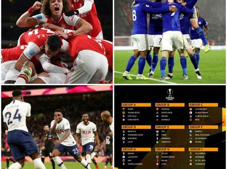 OPINION: As Europa League Draw Is Out, These Are The 3 Teams That Might Trash Any EPL Team They Meet