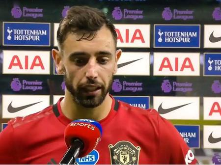 How it started vs how it ended, Manchester United is my heaven- Bruno Fernandes says
