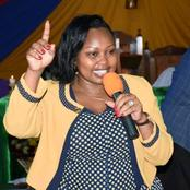 Senator Millicent Omanga's Reaction After Manchester United Won Against Manchester City