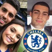 Chelsea players and their girlfriends including Werner, Chilwell and Ziyech (Photos)