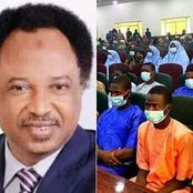 After Release Of Abducted Students, See What Shehu Sani Asked The Government To Do Immediately