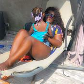 Eunice Zunon en famille à Assinie : son maillot de bain suscite des commentaires