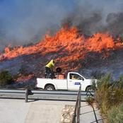 NEWS | Fire in the Overberg 'out of control'