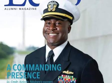 The Igbo Man Who Is Now A US Navy Commander, Check Out The South-East State He Comes From