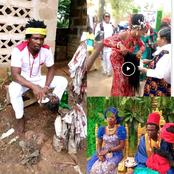 Check Out 45 Photos And Videos From Popular Native Doctor Mmiri Eweilo Traditional Marriage