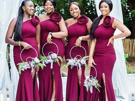 Make Your Bridesmaids Look Gorgeous And Classy With These Dresses