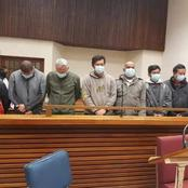 Ten foreign nationals were arrested after they were found with cocaine valued at R583 million.