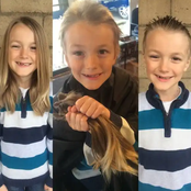 Meet the 7-year-old Boy Who Gave His Hair To Cancer Patients and What Later Happened To Him (Photos)