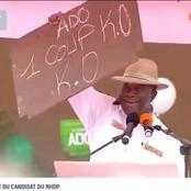 Présidentielle 2020 : Il y a un mois, le président Ouattara faisait son '' 1 coup K.O