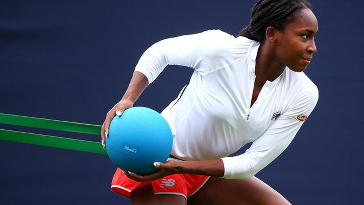 Eastbourne Tennis 2021: Coco Gauff and other stars grace day one - in pictures