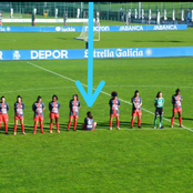 While 21 players paid respect to Maradona, see what a footballer was doing that sparked reactions