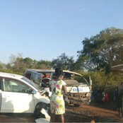 Grisly Road Accident Along The Thika Highway