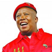 Julius Malema will turn 40 years on Wednesday and already South African people are sending messages
