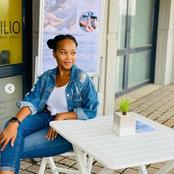 Sthoko from Skeem Saam left fans amazed with her recent dazzling pictures.