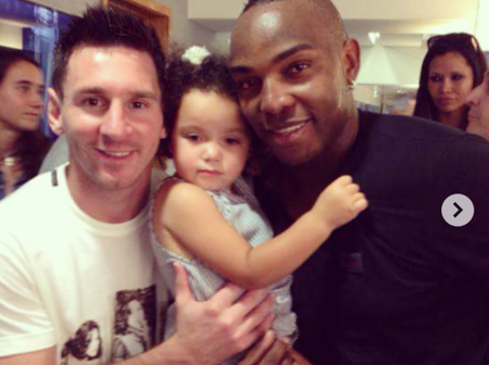 Check out the pictures of Benni McCarthy that got everyone talking about