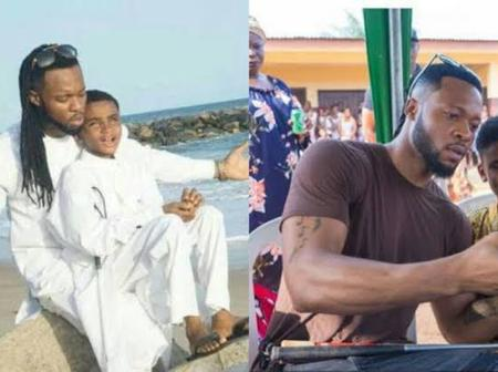 [PHOTOS] Just 3 Years After Flavour Adopted This Blind Boy, See How He Has Changed