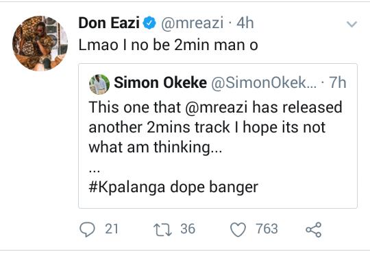 a745fbd829283343db7c7a5cfe67a131?quality=uhq&resize=720 - I'm not a 2 minutes man - Mr Eazi replies a fan savagely