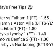 Winning Football Tips for Today's Matches