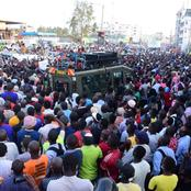 Who is The King of Pulling Crowds? Dp Ruto v Raila Crowds in Narok, Kilifi Draws The Battle (Photos)