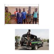 See The Family Paraded By The Police For Kidnapping In Ogun State