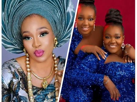 Yoruba Actress Mosun Filani Celebrates Her Twins Sisters Birthday.