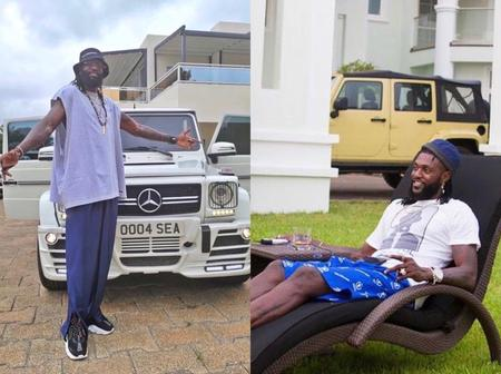 Photos of Adebayor that shows that, he is having the best life(Photos)