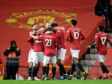 Man United Fans Praise Star Player After Having An Impressive Performance In Today's Match