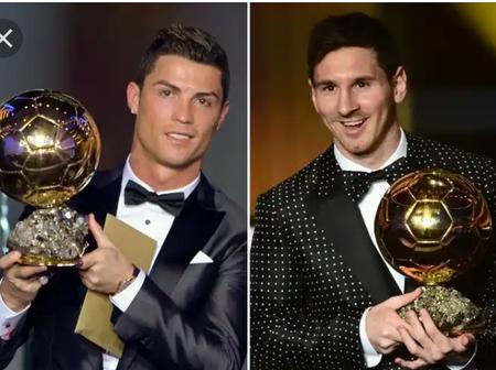 Photos Of CR7, Messi, Fabio, Kaka, Ronaldo, Zidane, Luka And Others With Ballon d'or