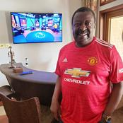 Kenyans React on Musalia's  Photo on Manchester VS Liverpool Past  Match