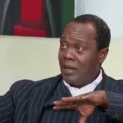 Uhuru's Critic Reacts After Remarks By Jeff Koinange