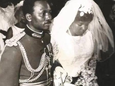 Meet the bridesmaid of Yakubu Gowon's wife on their wedding day