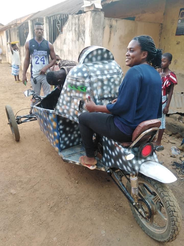 a7b8f654784d4145972ace45fb837d2c?quality=uhq&resize=720 - Ghana Got Talent! Young Guy Builds His Own 'Three-Wheel Roadster', Beautiful Photos Drop