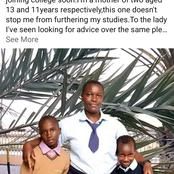 Before Giving Up In Life, Meet This Woman Who Joined Secondary School At 29 Years