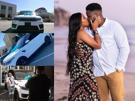 Davido's Brother Surprises Wife With Beautiful Range Rover