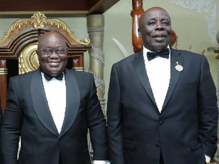 Okyenhene Osagyefo Amoatia Ofori Panin Fights Nana Addo, On His Mining Policy. PICS