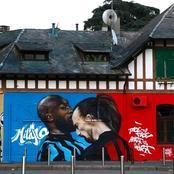 This Lukaku And Ibrahimovic Mural On The Streets Of Milan Is Stunning