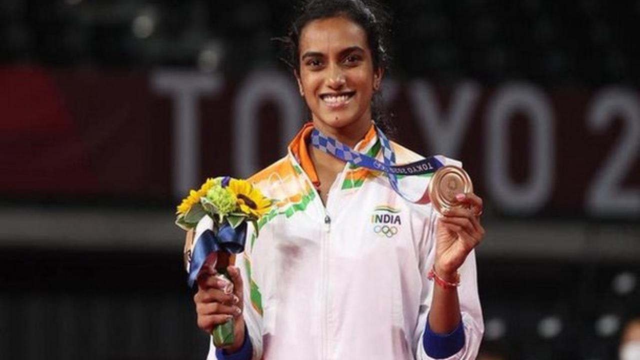 Sindhu talks about winning bronze medal at Tokyo Olympics