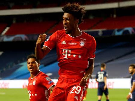 Bayern Munich expects more from Kingsley Coman