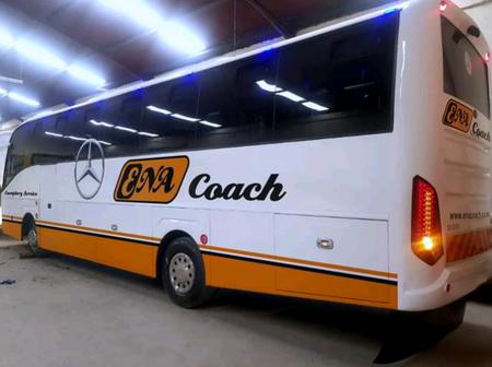Ena Coach Unveils Their First Ever Mercedes Benz Bus Leaving Kenyans Talking